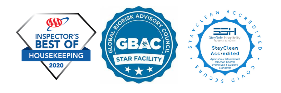 AAA Best of House Keeping GBAC STAR Facility StayClean